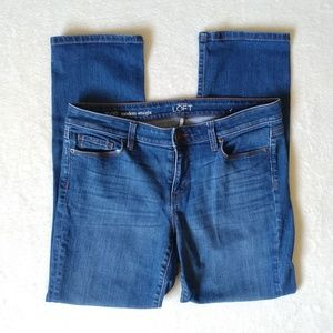 LOFT Medium Wash Blue Jeans Modern Straight 30/10